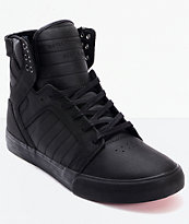 Supra Skytop Red Carpet Edition Muska Tuf Black Skate Shoes