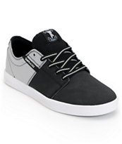 Supra TK Stacks Black & Silver Raptor Tuf Shoe