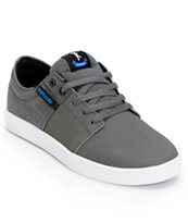 Supra TK Stacks Charcoal & White Express TUF Skate Shoe