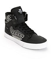 Supra Vaider Knit Sweater Skate Shoes