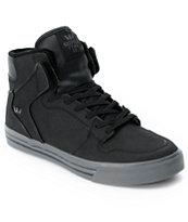 Supra Vaider Tuf Black Gunny Shoe