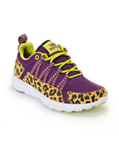 Supra Womens Owen Purple & Cheetah Shoe