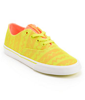Supra Womens Wrap Orange & Tennis Shoe
