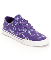 Supra Womens Wrap Purple & Bluegrass Canvas Shoe