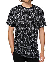 Swallows & Daggers Cat Head Allover T-Shirt