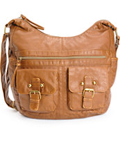 T-Shirt & Jeans Chloe Cognac Crossbody Purse