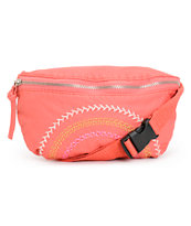 T-Shirt & Jeans Coral Embroidered Stitched Fanny Pack