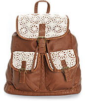 T-Shirt & Jeans Crochet Rucksack Backpack
