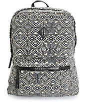 T-Shirt & Jeans Geo Print Backpack