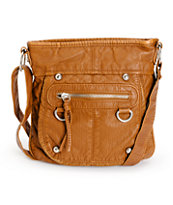 T-Shirt & Jeans Kelly Cognac Purse