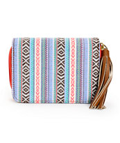 T-Shirt & Jeans Kristen Multi Tribal Zip Wallet