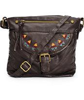 T-Shirt & Jeans Mabel Dark Brown Crossbody Purse