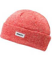 TRUKFIT Marl Heather Red Beanie