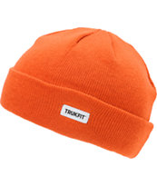 TRUKFIT Marl Orange Beanie