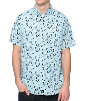 Tavik Flopper Mint Button Up Shirt