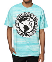 Teenage Globe Tie Dye T-Shirt