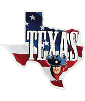 Texas Theme USA Sticker