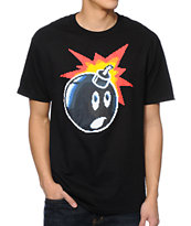 The Hundreds 16 Bit Adam Black Tee Shirt