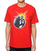 The Hundreds 16 Bit Adam Red Tee Shirt