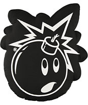 The Hundreds Adam Bomb Outline Throw Pillow