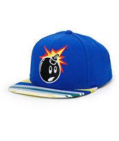 The Hundreds Adam Pattern Brim Snapback Hat