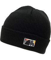 The Hundreds Batter Black Fold Beanie