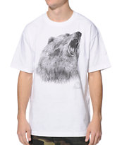 The Hundreds Bear Witness White Tee Shirt