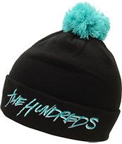 The Hundreds Blot Black Pom Fold Beanie