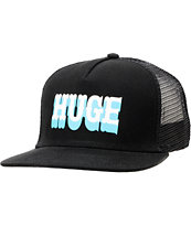 The Hundreds Board Black Snapback Trucker Hat