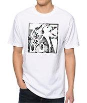 The Hundreds Boobtube White T-Shirt
