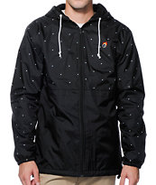 The Hundreds Carlton Black Windbreaker Jacket
