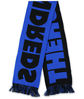The Hundreds Classic Black & Blue Scarf