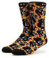 The Hundreds Collage Multi Crew Socks