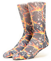 The Hundreds Collage Sublimated Crew Socks