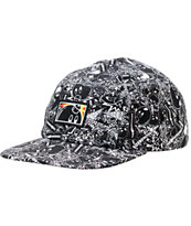 The Hundreds Collection Black 5 Panel Hat