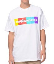 The Hundreds Color Bar White T-Shirt