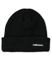 The Hundreds Crisp Black Fold Beanie
