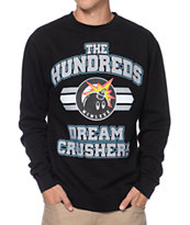 The Hundreds Crushing Dreams Black & Grey Crew Neck Sweatshirt