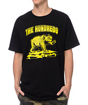 The Hundreds DaBear Black & Yellow Tee Shirt