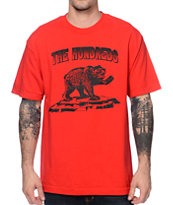 The Hundreds Dabear Red Tee Shirt
