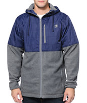 The Hundreds Dale Navy & Charcoal Jacket