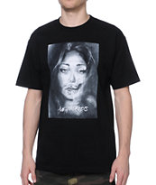 The Hundreds Dessie Black Tee Shirt
