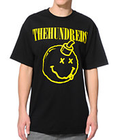 The Hundreds Don't Mind Black Tee Shirt