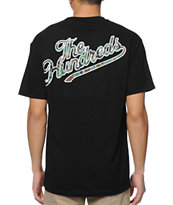 The Hundreds Duckin Slant Black & Camo Tee Shirt