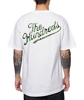 The Hundreds Duckin Slant White & Camo Tee Shirt