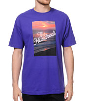 The Hundreds Dusk Purple Tee Shirt