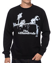 The Hundreds Ended Black Crew Neck Sweatshirt