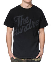 The Hundreds Erkel Black Pocket Tee Shirt