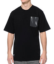 The Hundreds Fennel Pocket Black Tee Shirt