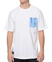 The Hundreds Fennel Pocket White T-Shirt